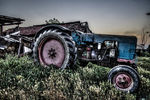 Title: old tractorNikon D5000
