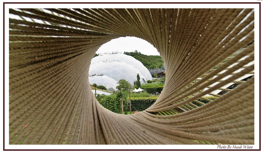 Eden Project rope view