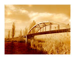 Title: The Bridge and red river