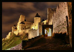 Title: Night at Carcassonne