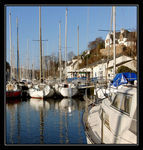 Title: Morlaix.The Port