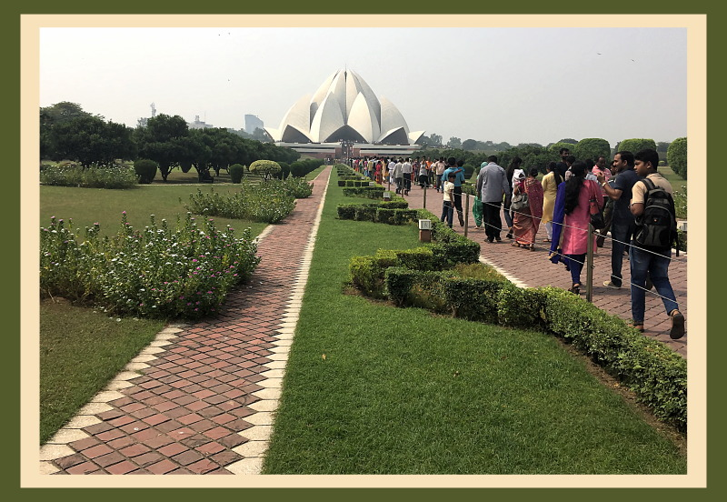 ..::The Lotus Temple::..