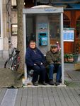 Title: Phone Booth PeopleCanon PowerShot G5