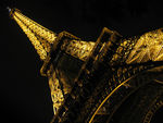 Title: Eiffel Tower, Up Close