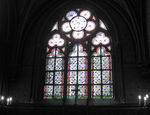 Title: Stained Glass of Notre-Dame