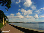 Title: the dumaguete city baywalk boulevardCanon Powershot A700
