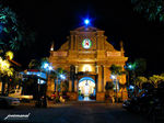 Title: the dumaguete city cathedral @ nightCanon Powershot A700